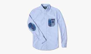 Gitman Vintage x END. Patchwork Detail Oxford Shirt