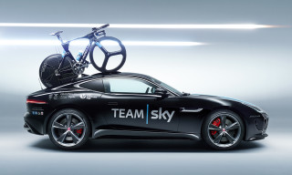 Jaguar Builds F-TYPE Concept to Support Team Sky in Tour de France Stage 20