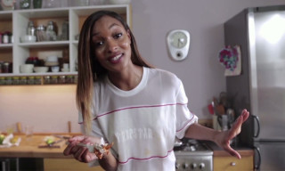 Watch Jourdan Dunn Cook Chicken Peri Peri