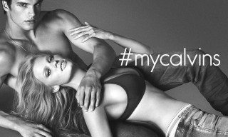 Lara Stone stars in the Calvin Klein Fall/Winter 2014 Campaign