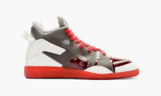 Maison Martin Margiela Rubber Paneled Neo-Sneakers