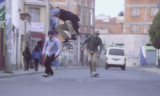 Watch Milton Arellano and Levi's Skateboarding Build a New Skatepark in Bolivia