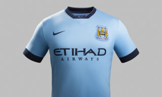 Nike and Manchester City Unveil Home Kit for 2014-15 Season