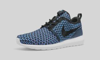 """Nike Flyknit Roshe Run """"Black/Neon Turquoise"""""""