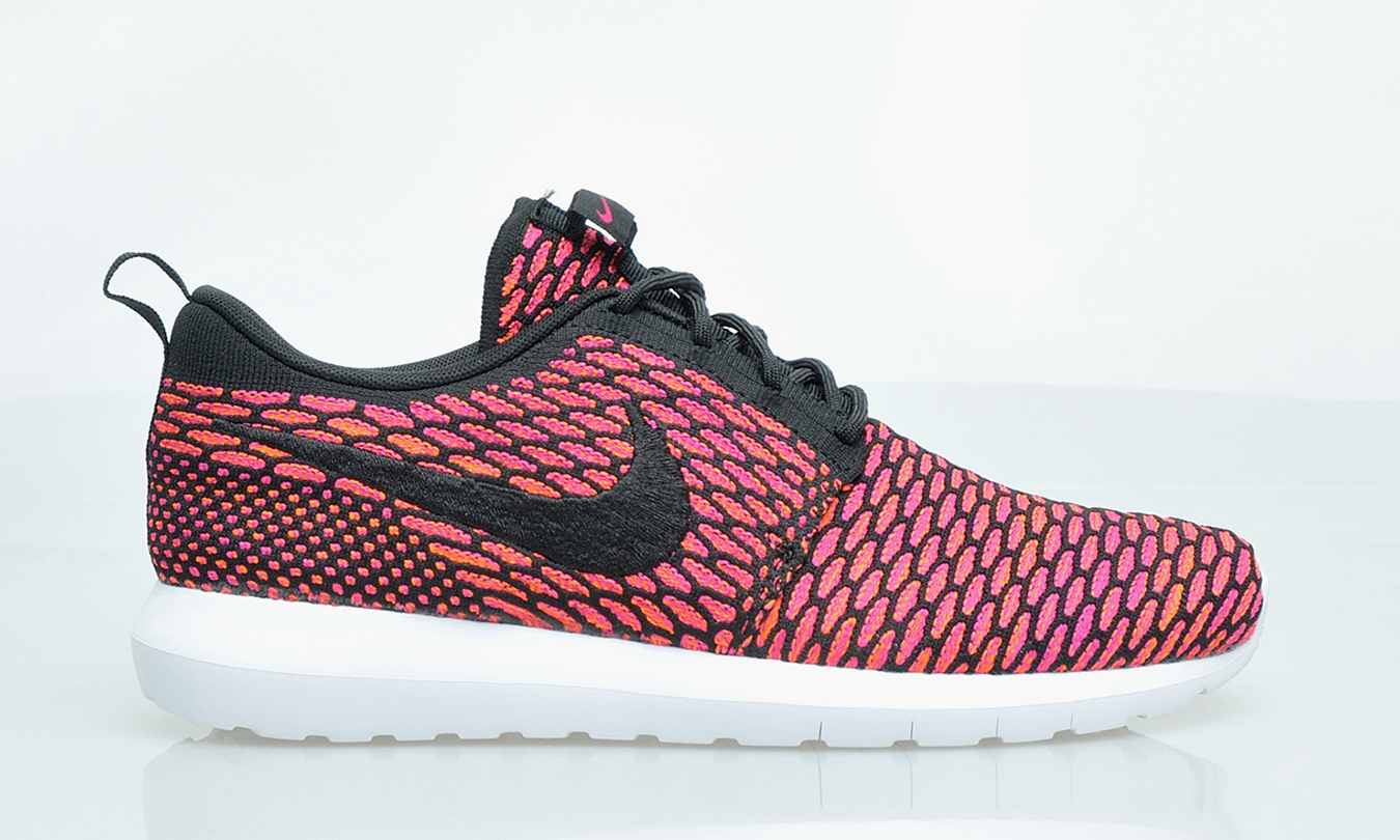 nike roshe run nm flyknit fireberry highsnobiety. Black Bedroom Furniture Sets. Home Design Ideas