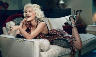 Rita Ora for Roberto Cavalli's Fall/Winter 2014 Campaign