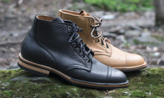 Tate + Yoko x Viberg Canadian Moose Leather 1950 Service Boot
