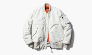 uniform experiment x Alpha Industries Leather MA-1 Jacket
