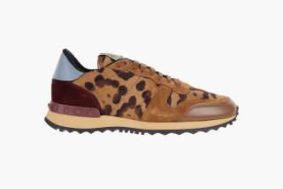 Valentino Rockrunner Ponyhair Sneakers cheapest price online cheap geniue stockist cheap best seller cost j7RqvSnv