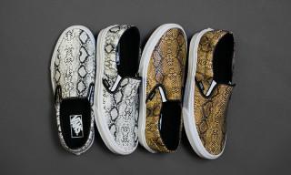 """Vans Classic Slip-On """"Snake"""" Pack"""
