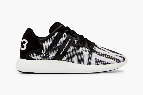 "half off 86871 0edb2 ... colorways of the Qasa Racer and Hayex High, Yohji Yamamoto s Y-3 label  has released a ""Black and White"" version of its lightweight Yohji Boost  runner."