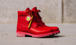 "A Closer Look at the Bee Line x Timberland 6"" Boot ""Crimson"""