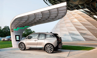 EIGHT Unveils First Ever Solar Charging Point for BMW i3 & i8