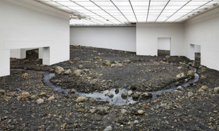 Olafur Eliasson Creates 'Riverbed' in Denmark's Louisiana Museum of Modern Art