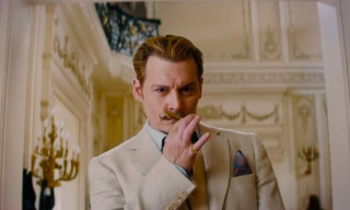 Watch the Official Trailer for 'Mortdecai' starring Johnny Depp