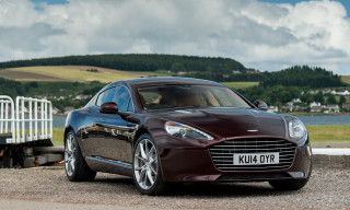 Aston Martin Unveil 2015 Rapide S