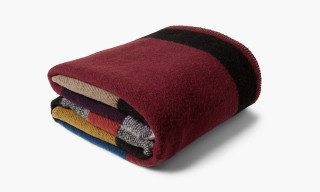 Burberry Prorsum Patterned Wool and Cashmere Blanket