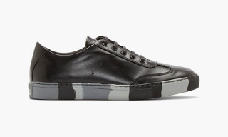 "COMME des GARÇONS SHIRT Leather ""Black & Grey Camo"" Sneakers"
