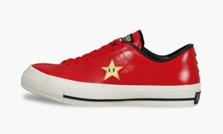 Super Mario Brothers x Converse One Star 40th Anniversary Pack