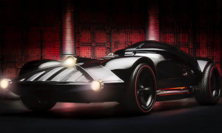 Hot Wheels Unveils Life-Size Darth Vader Car
