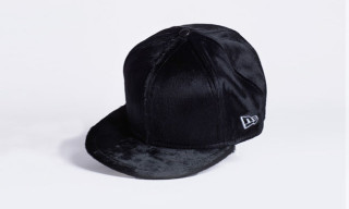 Juun.J Calf Hair New Era Caps
