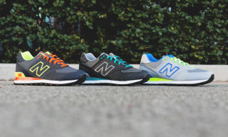 New Balance Fall 2014 574 Woven Pack