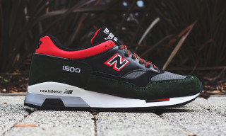 "New Balance Made in England M1500 ""Red/Green/Black"""