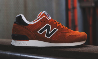 "New Balance Made in England M670 ""Orange/Navy"""