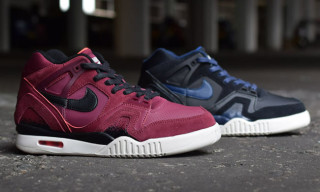 "Nike Air Tech Challenge II ""Burgundy"" and ""Navy"""