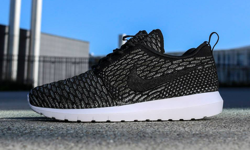 nike roshe run flyknit nm black sequoia highsnobiety. Black Bedroom Furniture Sets. Home Design Ideas