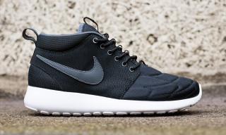"""Nike Roshe Run Mid """"Black/White"""""""