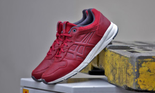 "Onitsuka Tiger Shaw Runner Lux ""Red/White"""