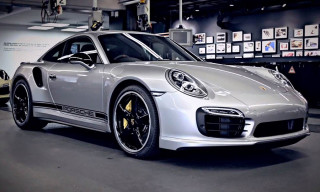 Porsche Enthusiasts Magnus Walker and Tony Hatter Appraise the New 911 Turbo S Exclusive GB Edition