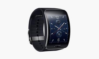 Samsung Presents Curved Gear S Smartwatch