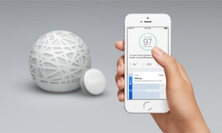 Sense Monitors Bedroom Environment to Improve Sleep