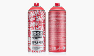 Sneaker Freaker x Montana Spray Can