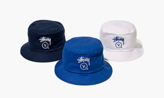 Stussy Japan x Vanquish 10th Anniversary Bucket Hats