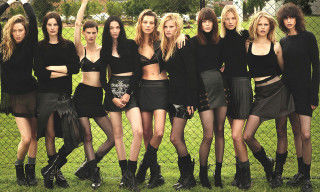 """Super Normal Super Models"" for 'W' Magazine by Mert & Marcus"