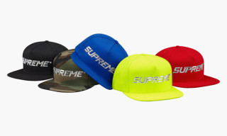 Supreme Fall/Winter 2014 Snapbacks