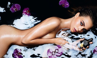 Tom Ford Releases Black Orchid Fragrance Campaign starring Cara Delevingne
