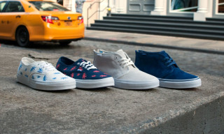 "Vans Vault Fall 2014 Collection – Chukka Zip LX & Authentic LX ""Palm Leaf"""