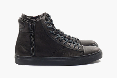 1aecfb27ab21 wings + horns leather high top sneakers