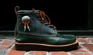 "Yuketen Fall/Winter 2014 Native Maine Guide Boot ""Loden Green"""