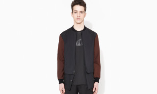 3.1 Phillip Lim Zip Up Harrington Jacket with Zip Off Shirt Tail