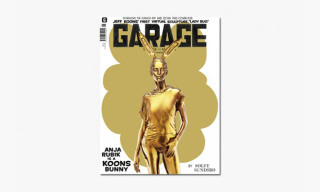 Jeff Koons Turns Anja Rubik & Binx Walton Into Bunnies for 'GARAGE' Magazine