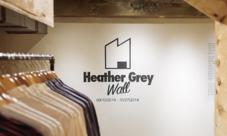 Highsnobiety Visits | Heather Grey Wall Pop-Up at Space Ninety 8
