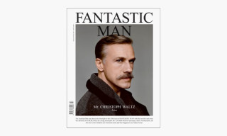 'FANTASTIC MAN' Issue 20 featuring Christoph Waltz