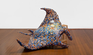 Claire Healy & Sean Cordeiro Fuse LEGO and IKEA Furniture Into Beautiful Sculptures