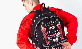"EASTPAK x Andrea Crews Fall 2014 ""STAY TRUE"" Collection"