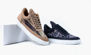 Filling Pieces x Liberty London Fall/Winter 2014 Footwear Collection